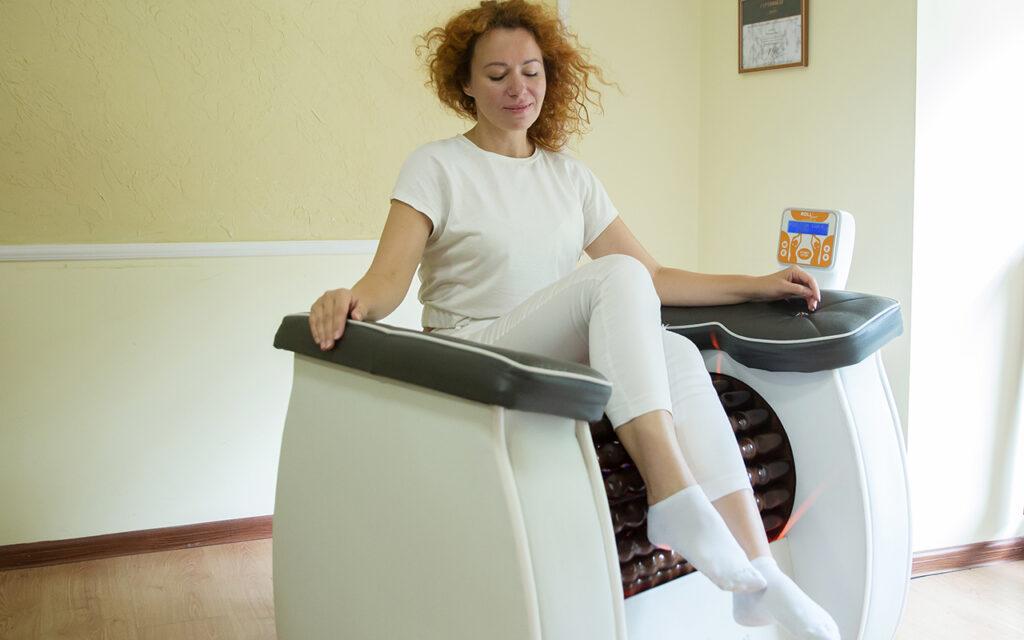 Апаратний лімфодренажний, антицелюлітний масаж Roll Shaper